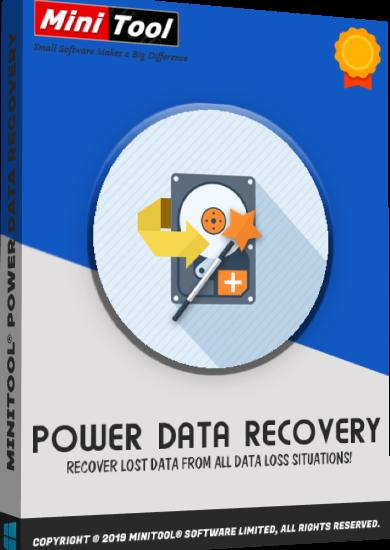 MiniTool Power Data Recovery 9.1 Crack + Serial Key [2021] Free