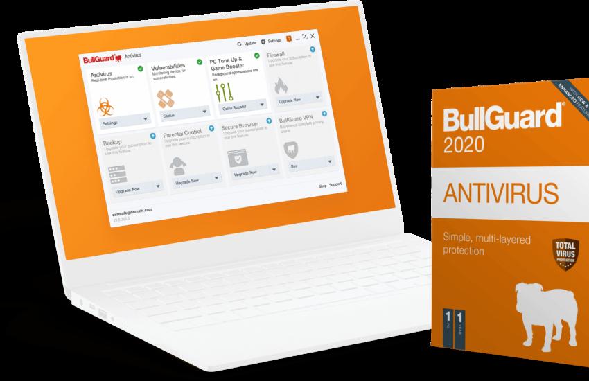 BullGuard Antivirus Crack v21.0.385.9 + Full License Key Free Download